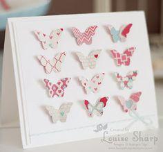 Seasonal Launch Party 2013 - Butterfly card.
