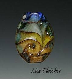 Color Wheel  Glass Bead by lisafletcher on Etsy
