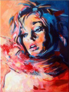 "Saatchi Online Artist: Pat Dumez; Acrylic 2013 Painting ""Indian summer"""