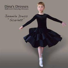 Платье для бальных танцев Scarlett