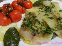Rețetă Cod cu dafin și lămâie, de Elucubratiiculinare - Petitchef Avocado, Food And Drink, Fish, Meat, Chicken, Lawyer, Pisces, Cubs
