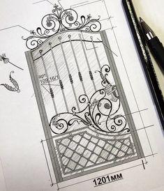 Fotografiile lui Serega Plus Steel Gate Design, Iron Gate Design, Buckingham Gate, Metal Grill, Wrought Iron Gates, Railing Design, Iron Work, Blacksmithing, Metal Art