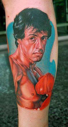 Confira esta tatuagem do Rocky