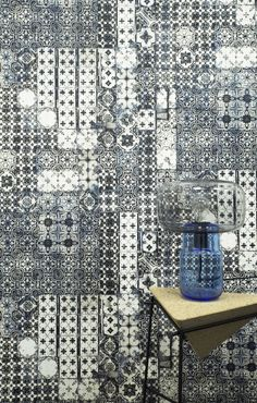 A Stunning Bold Portugese Decorative Tile Effect Wallpaper Design By The Amazing Jean Paul Gaultier