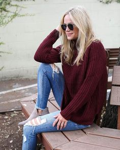 Get cozy in our Holidaze Knit Sweater! This turtle neck sweater is luxe and warm with a thick stretchy feel! Perfect with Pipers. Subtle ribbing at the hem completes this piece. Sport this relaxed fit Getting Cozy, Capsule Wardrobe, Bell Bottom Jeans, Style Me, Mom Jeans, Turtle Neck, Knitting, Sweaters, Pants
