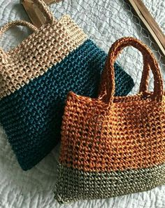 Crochet Market Bag, Crochet Tote, Crochet Handbags, Crochet Purses, Crotchet Bags, Knitted Bags, Bag Pattern Free, Art Bag, Macrame Bag