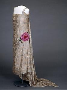 Queen Maud evening gown. c 1920