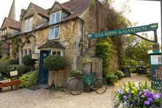 King John's Hunting Lodge, Tea Room & Garden in Lacock village, Cotswolds, Wiltshire, England Beautiful World, Beautiful Places, Amazing Places, Beautiful Homes, King John, English Countryside, Vintage Roses, Places To Go, Around The Worlds