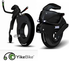 The YikeBike is the world's first all electric Carbon Fibre folding bicycle and it's available!