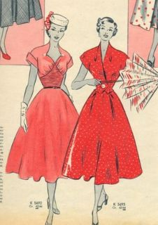 Red Dresses ooh I wished you'd get in my closet!