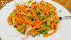 Vegetable Salad Easy Vegetable Salad Recipe, Quick Salad Recipes, Diet Recipes, Healthy Recipes, Easy Salads, Easy Meals, Indian Food Recipes, Ethnic Recipes, Party Dishes