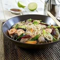 Pancit Bihon - Found Hong Kong Market in Duluth, GA the other day and now have a mission to cook as much Asian food as I can. So healthy and delicious!