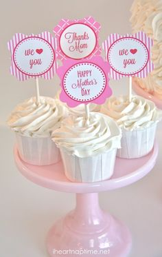 FREE Mothers Day Printables on I Heart Nap Time ...great way to say thanks!
