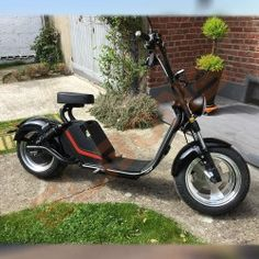 Electric Scooter, Motorcycle, Electric Moped Scooter, Biking, Motorcycles, Engine, Choppers, Motorbikes
