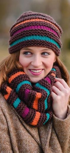 Gründl - feeling for wool - Best Scarf Baby Knitting, Crochet Baby, Knit Crochet, Free Knitting, Knitting Patterns, Sweater Hat, Knitting Accessories, Kids Hats, Knit Patterns