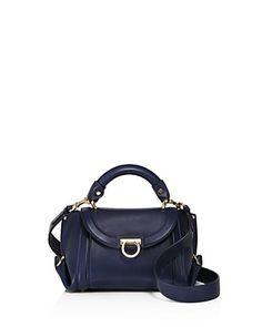 Salvatore Ferragamo Soft Sofia Leather Mini Bag