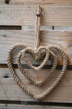 Decoration with rope