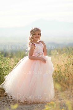 NEW The Juliet Dress in Pink Blush with by littledreamersinc