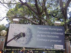 Parque Municipal Américo Renné Giannetti Fica na Av Afonso Pena,no centro de BH. Centenário foi inaugurado em 1897. Árvores antigas, lago, canteiros é uma opção para caminhadas,descanso, diversão para crianças e adultos.