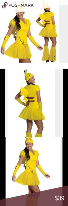 Women's Pikachu Pokemon costume Women's adult Pikachu Pokemon costume NWOTs. Never worn/never removed from bag. Size small. Purchased last year retail $60. Other