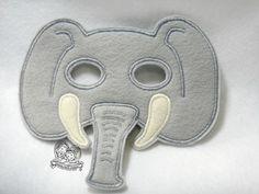 Children's Elephant Felt Mask $10