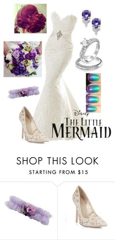 """Disney - Ariel"" by briony-jae ❤ liked on Polyvore featuring Lillian Rose and BCBGMAXAZRIA"