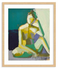 Teil Duncan, Green and Yellow | The Artist's Loft | One Kings Lane