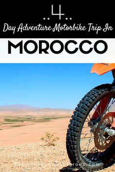 4 Day Adventure Motorbike Trip in Morocco  Morocco is a country which literally has it all, it offers towering mountain ranges covered in snow, rivers flowing through deep canyons, paradise white sand beaches, the vastness of the Sahara Desert, and most importantly of all, it's all connected together by some of the most amazing roads in the world. The perfect combination for an adventure motorbike trip in Morocco!