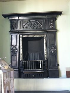 solid fuel fireplace from reclamation centre
