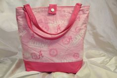 T.E.G. / Purse / Bag / Tote / Pink / by TheExceptionalGraham