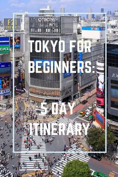 Heading to Tokyo for the first time? Then you need to check out this Tokyo itinerary for beginners. Don't miss out in the world's most exciting city! Travelling to Japan Tokyo Japan Travel, Japan Travel Guide, Go To Japan, Visit Japan, Asia Travel, Japan Trip, Tokyo Trip, Tokyo City, Tokyo 2020