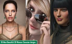 30 Most Beautiful 3D Woman Character designs for your inspiration. Read full article: http://webneel.com/30-beautiful-3d-woman-character-designs | more http://webneel.com/3d-characters | Follow us www.pinterest.com/webneel