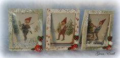 Gunn-Eirill`s Paper Magic: Shaker Christmas card