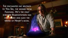Once Upon a Time Theories - sorcerers hat! This is my exact theory! Also Yen Sid is Disney backwards