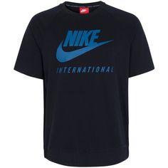 Nike Sportswear International Crew T-Shirt Herren für 59,95€. Angenehmer Tragekomfort, Gerippter Rundhalsausschnitt, Nike Swoosh mit Schriftzug bei OTTO