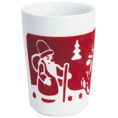 Five Senses Maxi-Becher 0,35 l touch! Erzgebirge rot // Freuen wir uns nicht alle auf die Weihnachtszeit? Heißer Tee oder Glühwein, gemütliche Treffen mit Freunden, Spaziergänge im Schnee... Die touch! Weihnachtskollektion bringt Sie kuschelig in diese Stimmung und ganz nebenbei verbrennen Sie sich dank der touch!-Beschichtung nicht Ihre Finger!