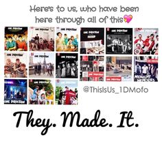 I'm so proud of them. Still so hard to believe that all of this has happened to them