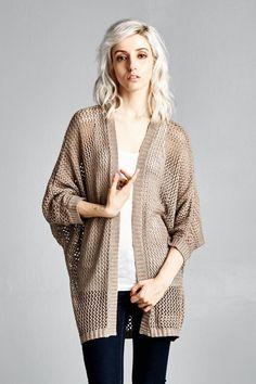 Sweaters and Cardigans : Open Knit  Karrie by KarrieBradshawLA
