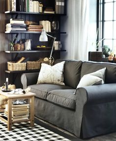 Love the couch, love the black, LOVE!  IKEA USA (DesignByIKEA) on Twitter