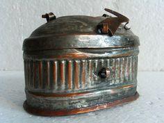 Antique curio Turkish bath house COPPER SOAP by cabinetocurios, $31.50