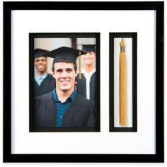 PhotoGuard 11-Inch x 11-Inch Graduation Memories Collage Frame in Black