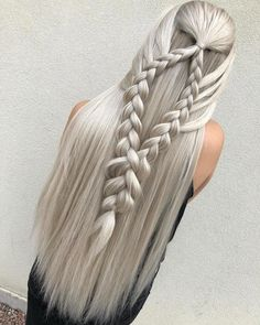 braided hairstyles cute girl hairstyles - New Site Cool Braid Hairstyles, Cute Girls Hairstyles, Pretty Hairstyles, Straight Hairstyles, Female Hairstyles, Long Haircuts, Hairstyles Pictures, Hairstyles Videos, Unique Hairstyles