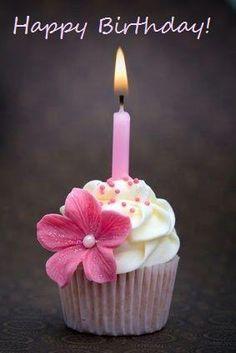 yummy birthday cupcake