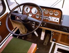 Big Red Bus, Truck Interior, Commercial Vehicle, Classic Cars, Buses, Trucks, Vehicles, Steering Wheels, Hungary