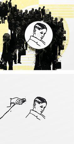 Pink Floyd - Another Brick In The Wall Book design, 'Vertaliaans Liedboek', De Roos, 2009