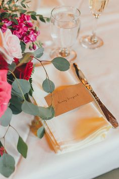 Burgundy Wedding Ideas With Rustic Cues | Elegant Wedding