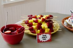 Avengers Themed Birthday Party Free Printables - iron mans fuel