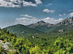 Velebit, mountain and nature park