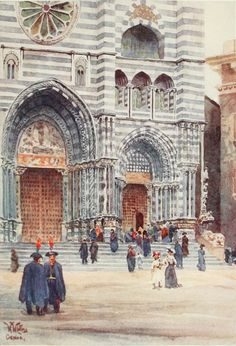 Cathedral of Genova (W.W. Collins)