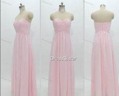 Bridesmaid Dresses  Pink Bridesmaid Dress / Long by DressSister, $99.99
